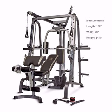 Picture of Marcy Smith Cage Workout Machine Total Body Training Home Gym System with Linear