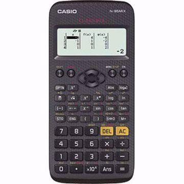 صورة كاسيو ,fx-95AR X كلاس ويز ،آلة حاسبة علمية ،12 رقم ،شاشة دوت ماتريكس بالكامل ،أسود