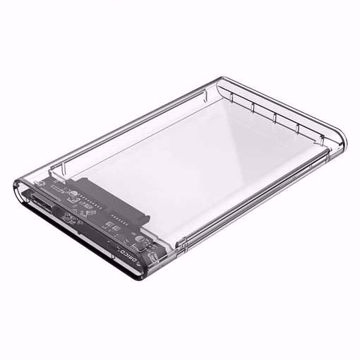 Orico-Hard-Drive-Enclosure-2.5-inch-Plastic-Transparent-HDD-SSD-USB3.0