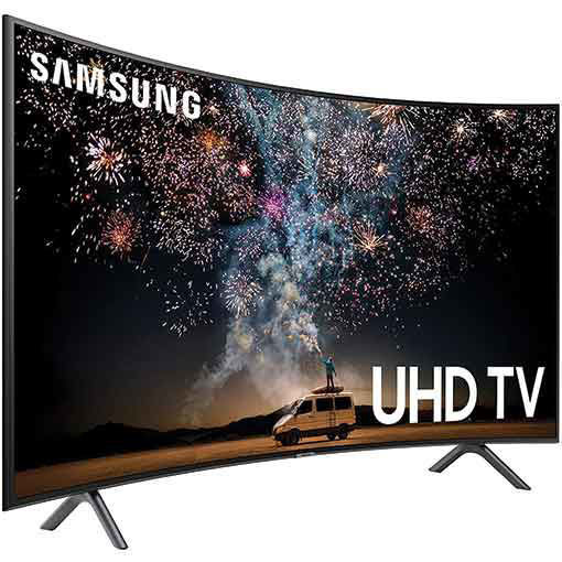 Samsung UN65RU7300FXZA Curved 65-Inch 4K UHD 7 Series Ultra HD Smart TV with HDR and Alexa Compatibility 2019 Model
