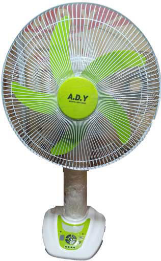 "Picture of Rechargeable Table Fan AC/DC 16"" A.D.Y"
