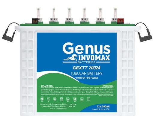 Picture of GENUS 100AH/12V INVOMAX TUBULAR Batteries
