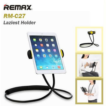 "Picture of Remax RM-C27 Lazy Holder Mobile Phone Holder 360 Degree Flexible Can Neck Hanging Waist Hanging Holder For Phone 4""-10""inch"