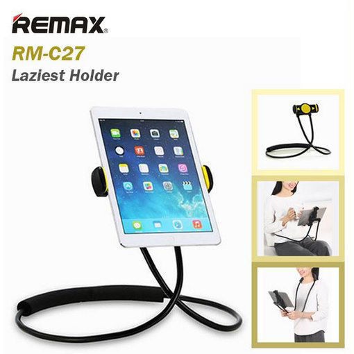 صورة ريمكس RM-C27 حامل للهواتف الذكية و للايباد بحجم شاشة من 4 الى 10 انش