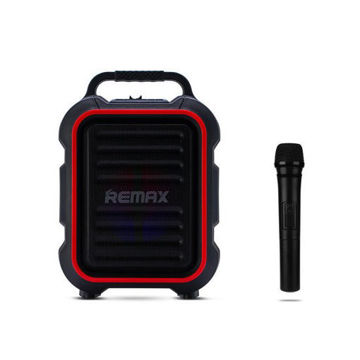 Picture of REMAX RB-X3 Outdoor Portable Bluetooth V3.0 Speakers with Wireless Microphone Big Bass Wireless Music Speaker for Phone/MP3