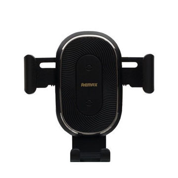 Picture of REMAX RM - C38 Wireless Suction Cup Phone Holder - Black