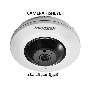 صورة كاميرا مراقبة شبكية وللتصوير الليلي من هيك فيجن قوة 5 MPموديل  DS-2CD3955G0-IS