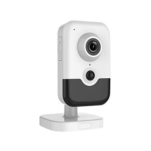 Picture of 6MP Indoor WDR Fixed IR Cube Wi-Fi Network Camera Support Real-time Security via Built-in Two-Way Audio Compatible with Hikvision DS-2CD2463G0-I(W)