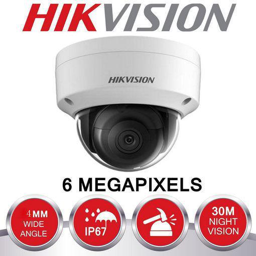 صورة كاميرا مراقبة شبكية وللتصوير الليلي من هيك فيجن قوة6MPموديل DS-2CD2163G0-I