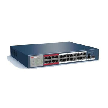 Picture of Hikvision NVR DS-3E0326P-E/M 24 Port Fast Ethernet Unmanaged POE Switch