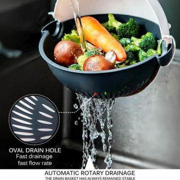 صورة قطاعة الخضروات والفواكة الدواره9في1
