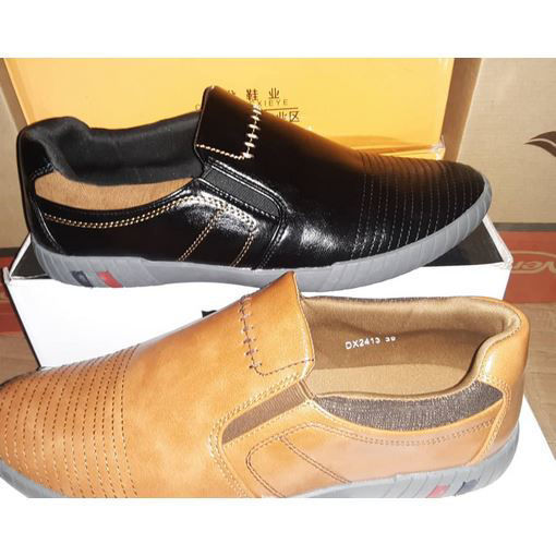 Leather casual shoes l من هب له . كوم