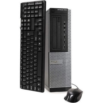 Dell Optiplex 7010 Business Desktop Computer (Intel Quad Core i5-3470 3.2GHz, 16GB RAM, 2TB HDD, USB 3.0, DVDRW, Windows 10 Professional) (Renewed)من هب له .كوم