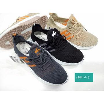 حذاء جري قماش بمقدمة مستديرة lnm-016 هب له . كوم
