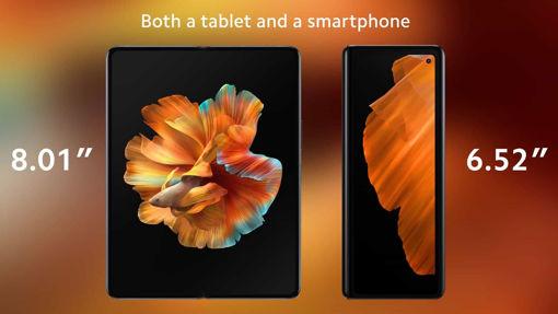 ميكس فولد(256+12)جيجا بايت شاشة OLED داخلية كبيرة مقاس 8.01 بوصة مع نسبة عرض إلى ارتفاع تبلغ 4: 3 ودقة 1440 بكسل
